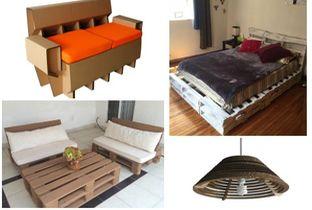 Decoracion Decoracion Amuebla tu casa con sillones de cartón y madera reciclada