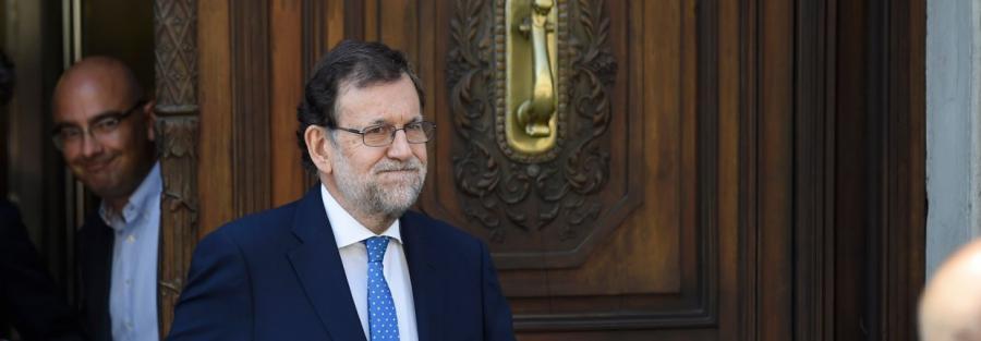 Politica Politica Presiones al Rey para que convenza a Rajoy de ir a la investidura sin plazos temporales