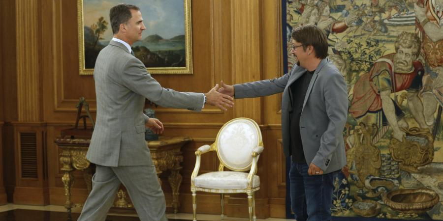 Politica Politica Felipe VI sólo recibe negativas a Rajoy en el segundo día de contactos