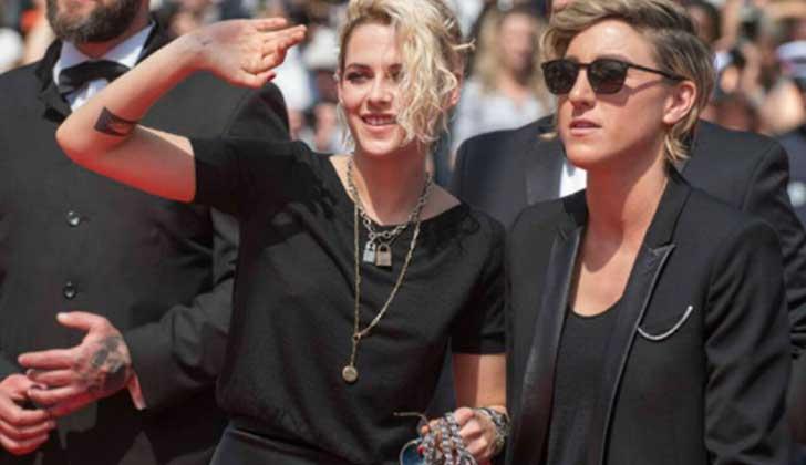Lesbianas Lesbianas Kristen Stewart reveló que se muestra públicamente con su novia para naturalizar las relaciones homosexuales