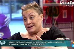 Salvame Salvame Telecinco explota el morbo del drama de la pitonisa Aramís Fuster