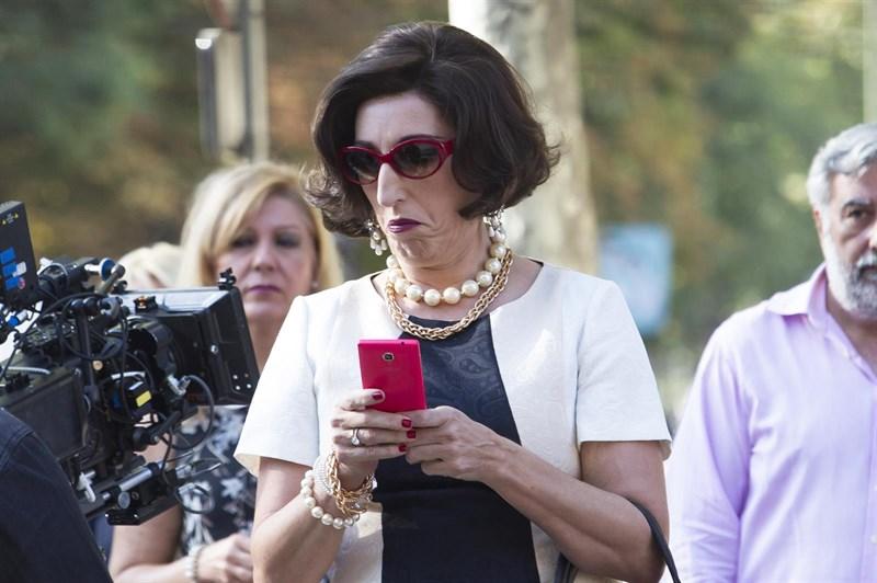 Personajes Personajes La imagen más irreconocible de Rossy de Palma