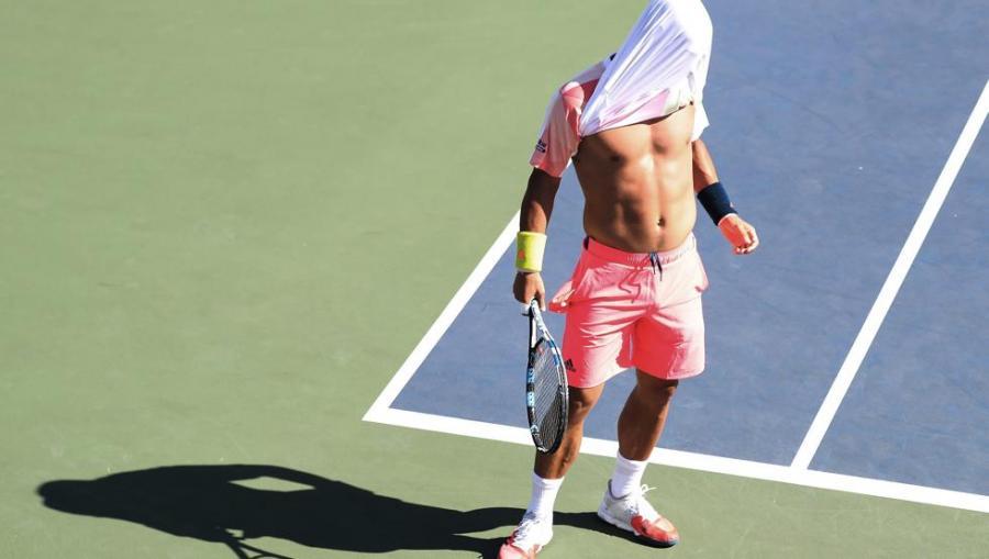 Deportes Deportes Fognini, lío y 'rajada' en el US Open