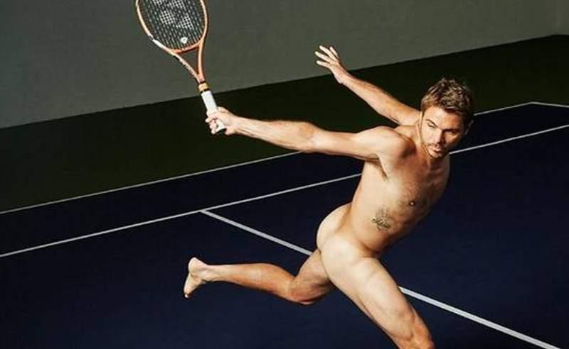 Deportes Deportes Tenista suizo Wawrinka posó desnudo para una sesión de fotos
