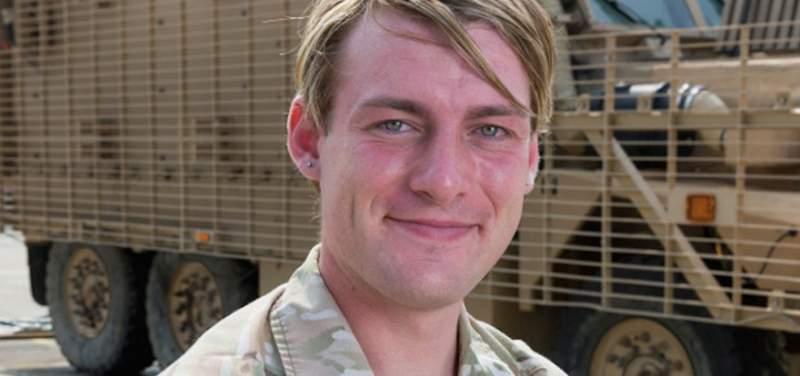 Transexsual Transexsual Chloe Allen, la primera mujer transgénero enrolada en el Ejército británico