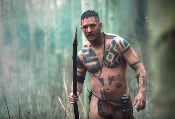 Cultura Cultura Tom Hardy enloquece en la nueva promo de 'Taboo'