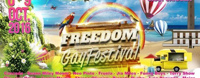 Cultura Cultura Llega a Gran Canaria el Freedom Gay Festival