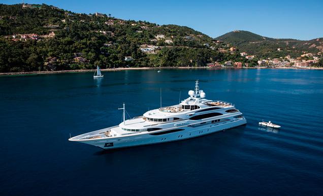 Turismo Turismo ¿Cuáles son los barcos de lujo preferidos por los famosos para 'veranear'?