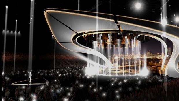 Eurovision Eurovision Así será el escenario de Eurovisión 2017
