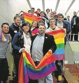 España España La ley LGTBI sale del armario en Extremadura