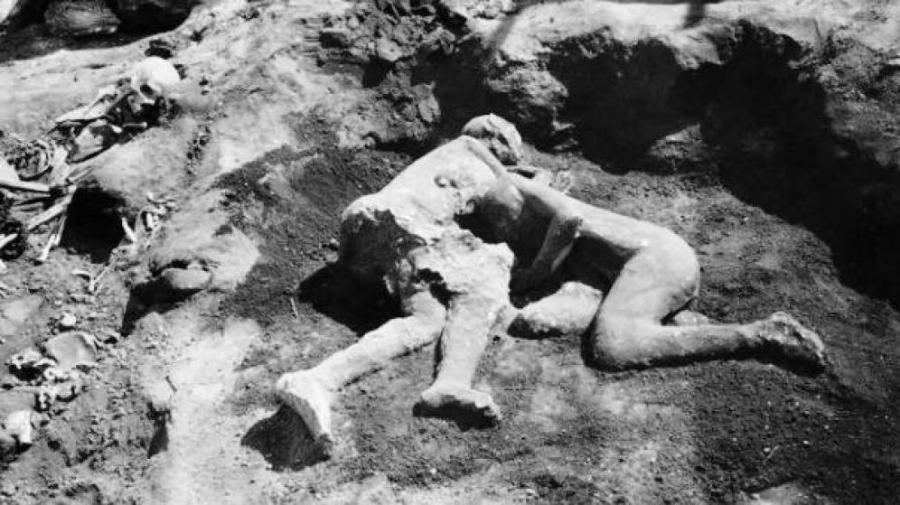 Actualidad Actualidad Roma gay: los amantes calcinados de Pompeya eran dos hombres