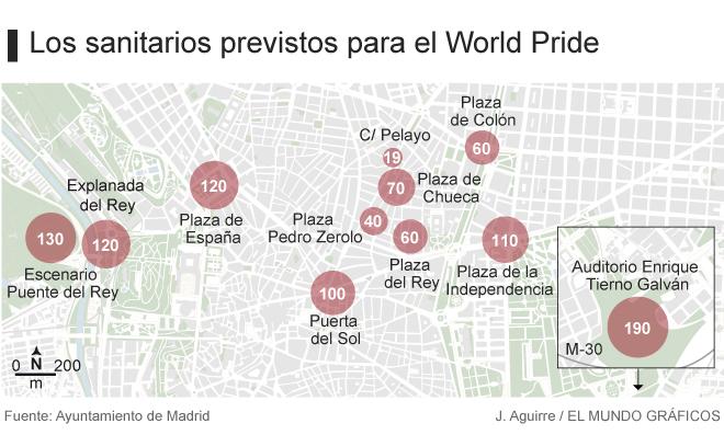 Actualidad Actualidad Fiestas del Orgullo Gay en Madrid: un urinario para cada 2.274 personas