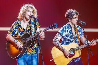 Actualidad Actualidad Así fue la actuación de Manel Navarro en la semifinal de Eurovisión