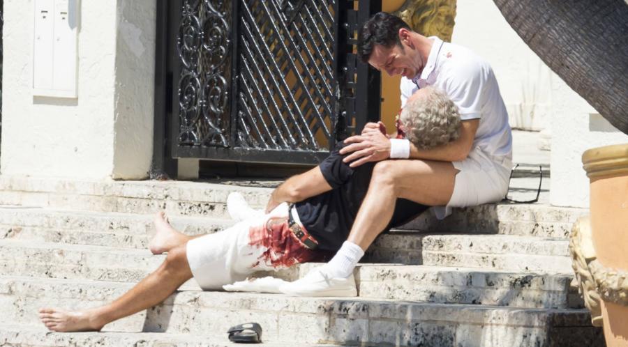 Actualidad Actualidad Las primeras imágenes de Ricky Martin en la serie de Versace