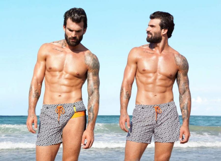 Moda Moda El bañador para hombre apuesta por lo retro, los estampados atrevidos y Cristiano Ronaldo