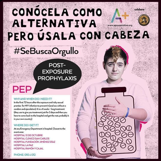 Salud Salud Más píldoras 'anti VIH' en Urgencias por el World Pride 2017