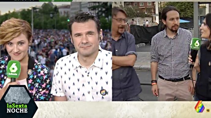 """Actualidad Actualidad La Sexta arde por la """"golfería moral"""" de Pablo Iglesias, Irán y el Orgullo Gay"""