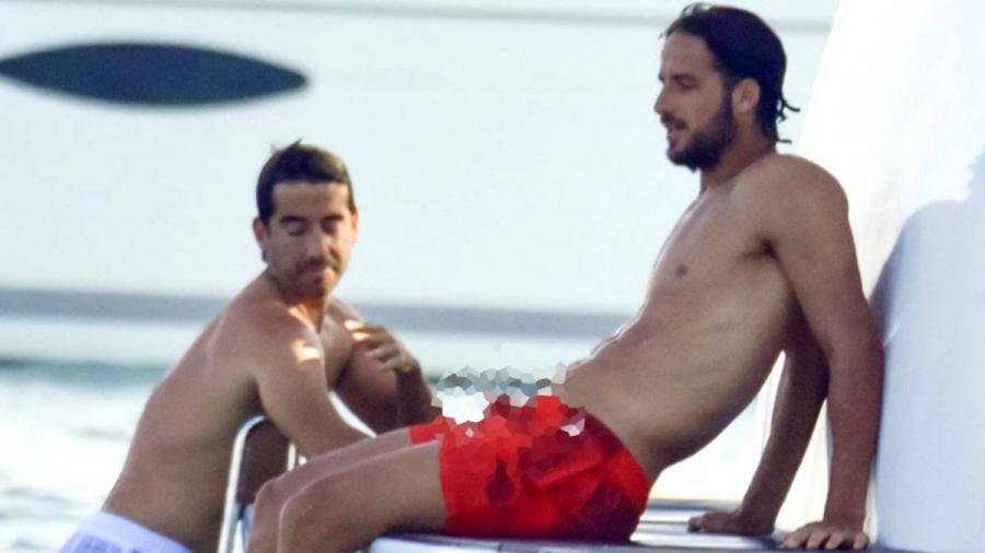 Personajes Personajes La foto de Feliciano López en bañador que genera bromas