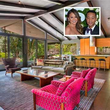 Inmobiliaria Inmobiliaria John Legend y Chrissy Teigen venden su casa: ¡Descubre cómo es el nido de amor de la pareja!