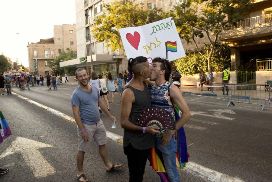 Actualidad Actualidad Miles de personas asisten al desfile del orgullo gay en Jerusalén entre fuertes medidas de seguridad