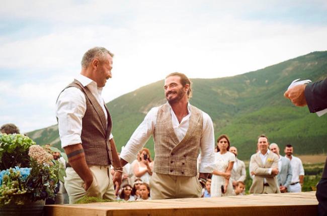 Actualidad Actualidad La original boda de Valero Rioja, el fotógrafo de las estrellas