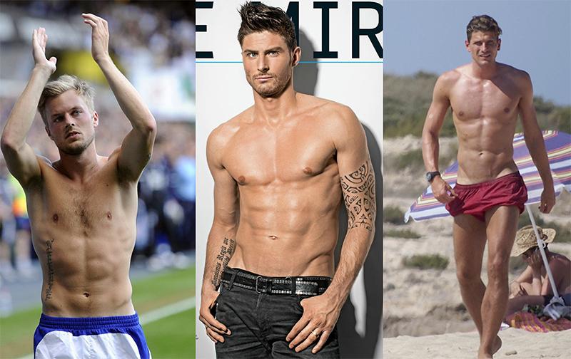 Actualidad Actualidad Los futbolistas más guapos y sexis