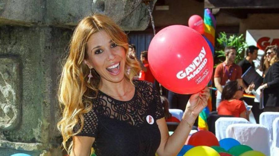Actualidad Actualidad Natalia, madrina del Gay Day en el Parque de Atracciones de Madrid.