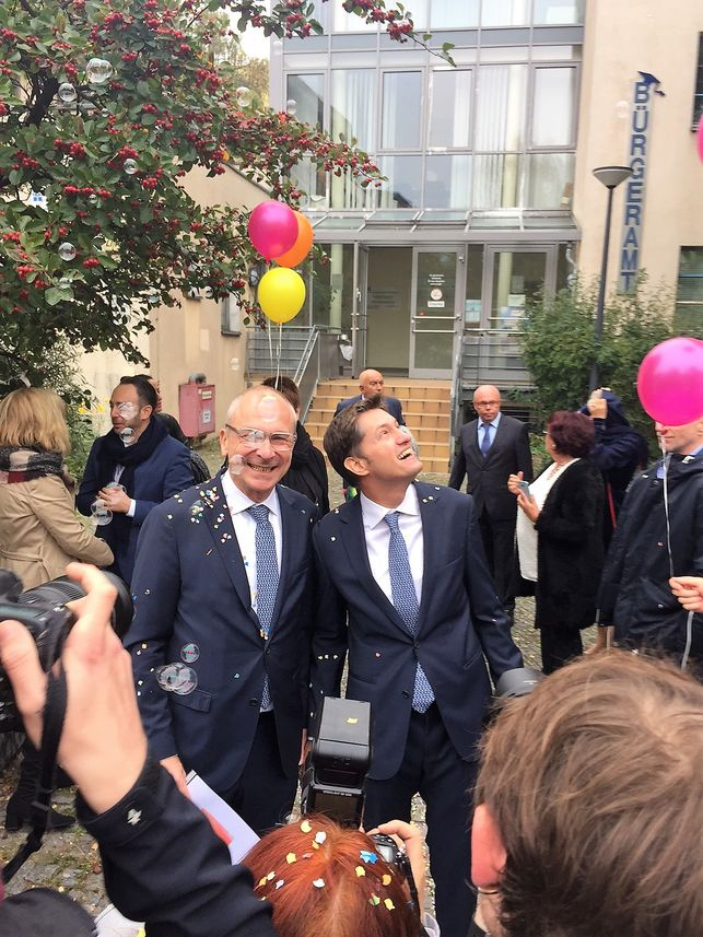 Actualidad Actualidad Volker Beck, el diputado que ha estrenado el matrimonio homosexual en Alemania