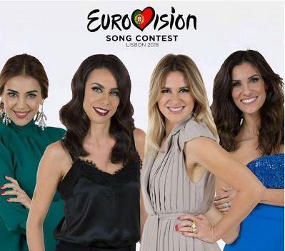 Historia Historia ¿Quiénes son las presentadoras de Eurovisión 2018?